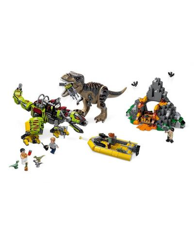 Конструктор Lego Jurassic World - T.Rex vs. Dino-Mech Battle (75938) - 4