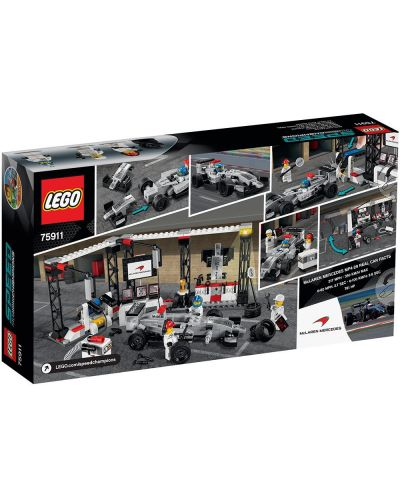Конструктор Lego Speed - Пит-стоп на McLaren Mercedes (75911) - 3