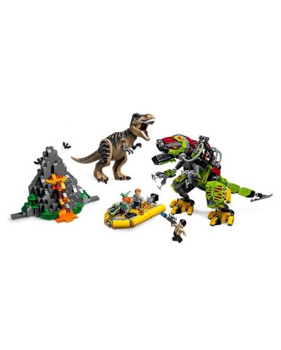 Конструктор Lego Jurassic World - T.Rex vs. Dino-Mech Battle (75938) - 3