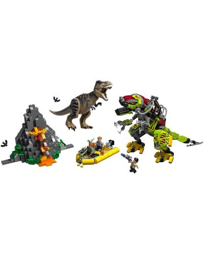 Конструктор Lego Jurassic World - T.Rex vs. Dino-Mech Battle (75938) - 2
