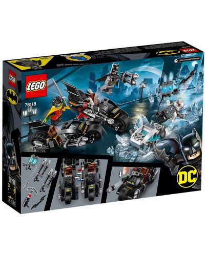 Конструктор Lego DC Super Heroes - Mr. Freeze Batcycle Battle (76118) - 5