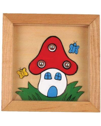 Дървена игра за сръчност с топчета Pino - Къща - 1