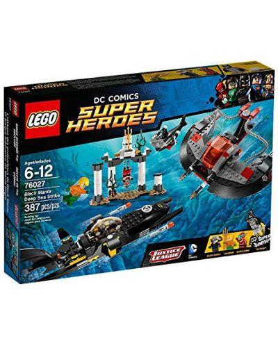 Lego Super Heroes: Подводното нападение на Черната Манта (76027) - 1
