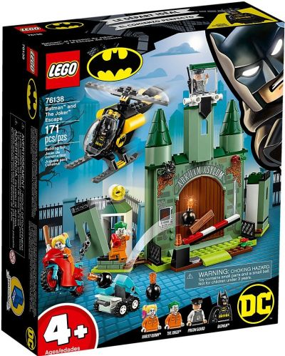 Конструктор Lego DC Super Heroes - Batman and The Joker Escape (76138) - 1