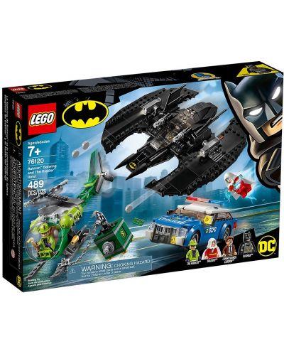 Конструктор Lego DC Super Heroes - Batman Batwing and The Riddler Heist (76120) - 1