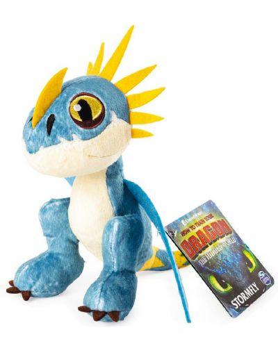 Плюшена играчка Spin Master Dragons - Stormfly, 20 cm - 1