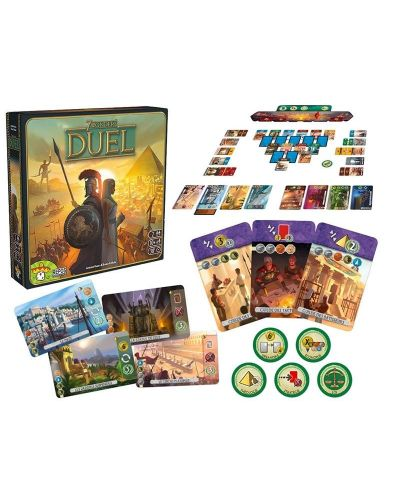 Настолна игра 7 Wonders - Duel - 3