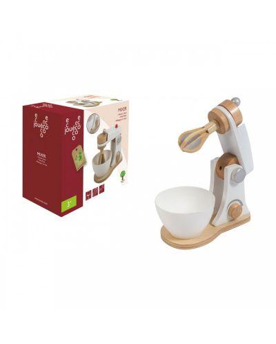 Дървен комплект за детска кухня Jouéco - Миксер - 4