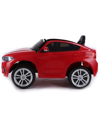 Акумулаторен джип Ocie - BMW X6M, червен - 4