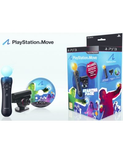 Playstation Move Starter Pack (Motion Controller + Eye Camera) - 2