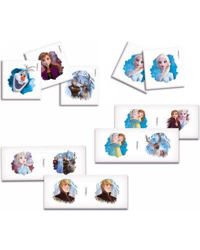 Пъзел Clementoni от 2 x 30 части, мемо игра и домино - Замръзналото кралство 2 - 2