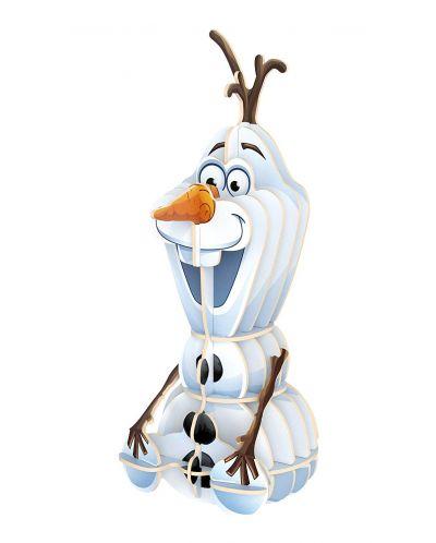 Пъзел Clementoni от 104 части и 3D модел - Замръзналото Кралство - 3