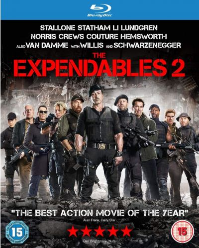 The Expendables 2 (Blu-ray) - 1