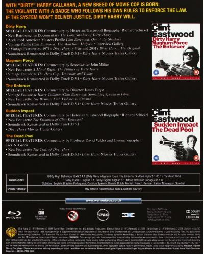 Dirty Harry Collection (Blu-Ray) - 3