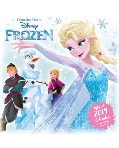 Стенен Календар Danilo 2019 - Disney Frozen Inc - 1