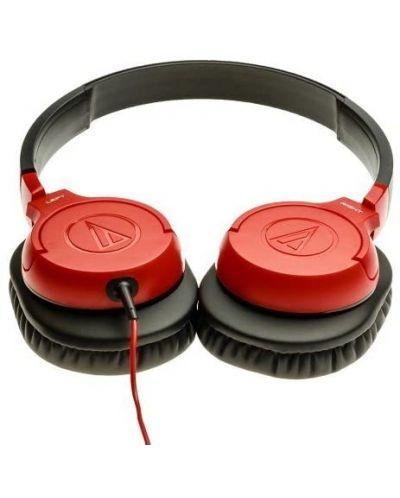 Слушалки Audio-Technica - ATH-AX1iS, червени - 3