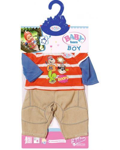 Детски аксесоар Zapf Creation, Baby Born - Дрешки за кукла, момче - 1