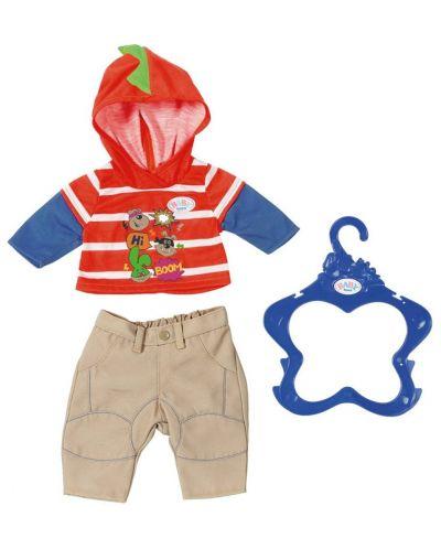 Детски аксесоар Zapf Creation, Baby Born - Дрешки за кукла, момче - 2