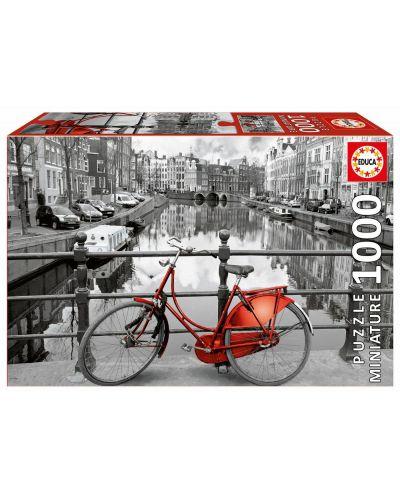 Пъзел Educa от 1000 мини части - Амстердам - 1