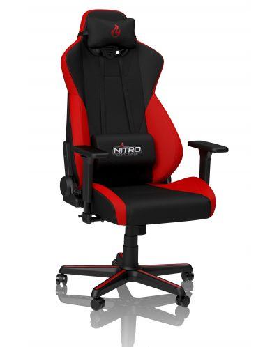 Гейминг стол Nitro Concepts - S300, inferno red - 1