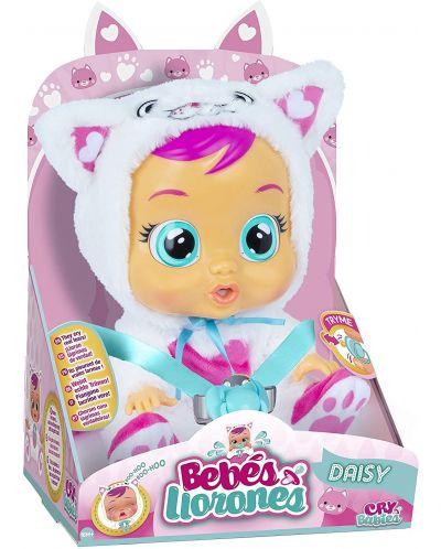 Плачеща кукла със сълзи IMC Toys Cry Babies - Дейзи, коте - 2