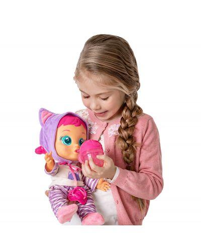 Плачеща кукла със сълзи IMC Toys Cry Babies - Кейти, с шише за вода - 3