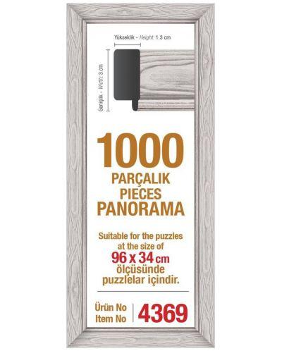 Рамка за панорамен пъзел Art Puzzle  - Бяла, за 1000 части - 1