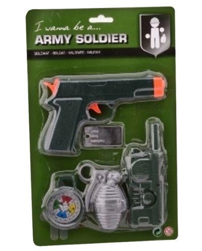 Игрален комплект Army Forces - Стартов сет, 5 части - 2