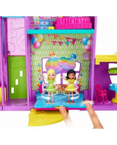 Игрален комплект Mattel Polly Pocket - Парти къща - 5