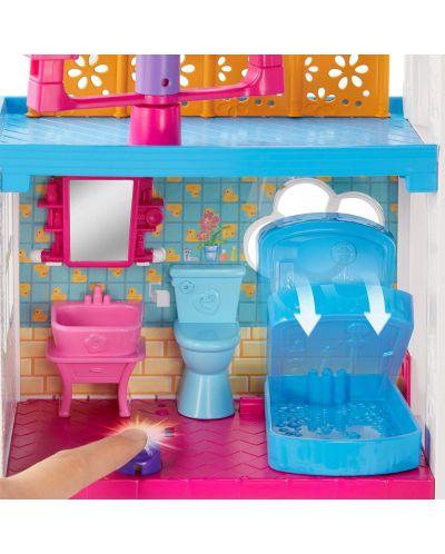 Игрален комплект Mattel Polly Pocket - Парти къща - 6