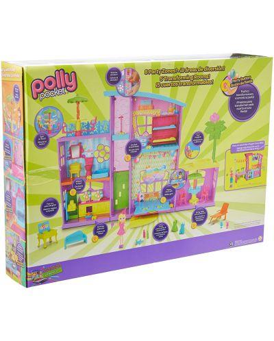Игрален комплект Mattel Polly Pocket - Парти къща - 2