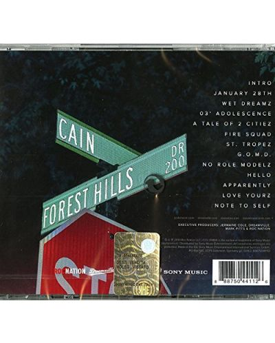 J. Cole - 2014 Forest Hills Drive (CD) - 2
