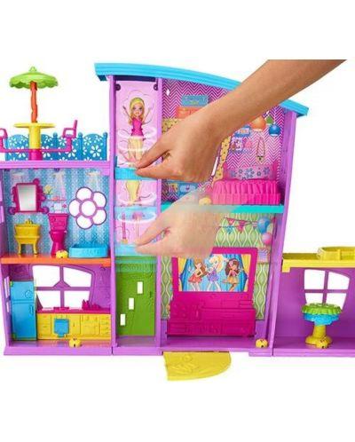 Игрален комплект Mattel Polly Pocket - Парти къща - 4