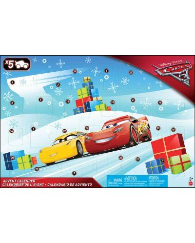Коледен адвент календар Mattel Disney - Cars 3, 24 изненади - 1