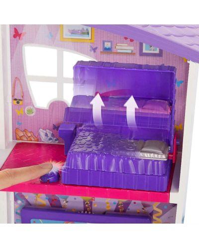 Игрален комплект Mattel Polly Pocket - Парти къща - 8