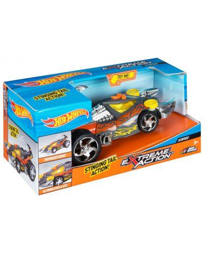Детска играчка Toy State, Hot Wheels - Кола със звук и светлини за екстремни приключения, скорпион - 1
