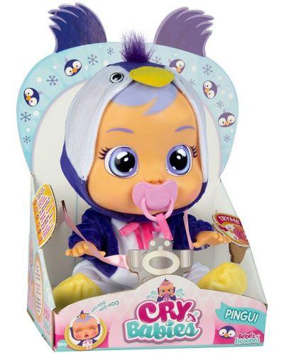 Плачеща кукла със сълзи IMC Toys Cry Babies - Пингуи, пингвинче - 2
