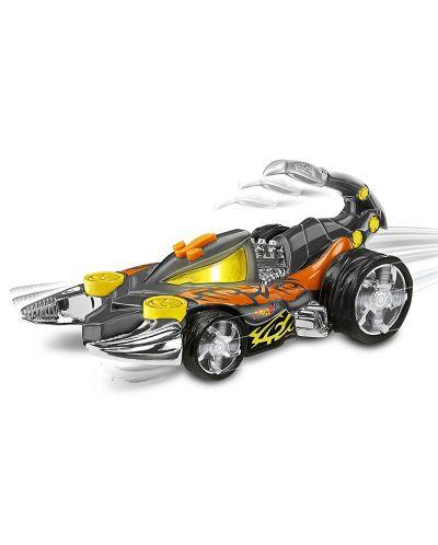 Детска играчка Toy State, Hot Wheels - Кола със звук и светлини за екстремни приключения, скорпион - 3