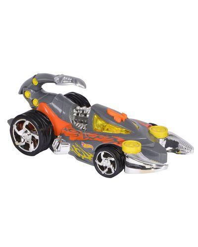 Детска играчка Toy State, Hot Wheels - Кола със звук и светлини за екстремни приключения, скорпион - 2