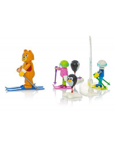 Комплект фигурки Playmobil - Ски урок - 4