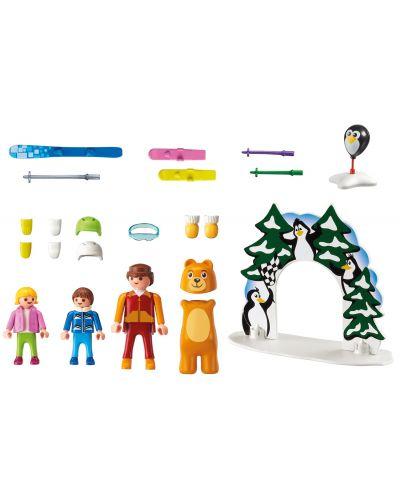 Комплект фигурки Playmobil - Ски урок - 2