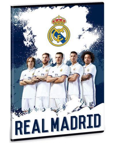 Ученическа тетрадка A4, 40 листа Ars Una Real Madrid - 1