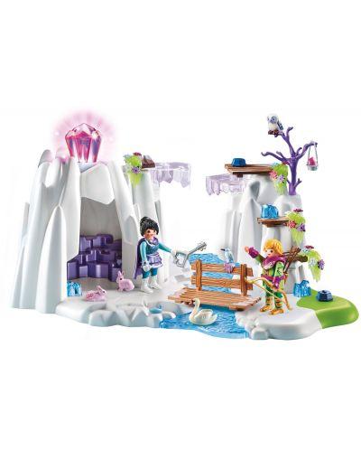 Игрален комплект Playmobil - Скривалище за кристалния диамант - 2