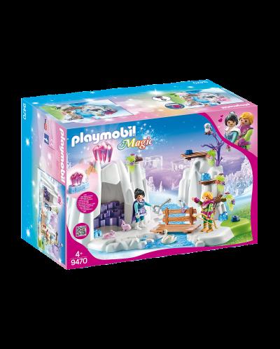 Игрален комплект Playmobil - Скривалище за кристалния диамант - 1