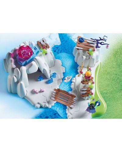 Игрален комплект Playmobil - Скривалище за кристалния диамант - 5