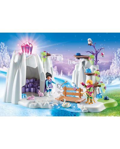Игрален комплект Playmobil - Скривалище за кристалния диамант - 4