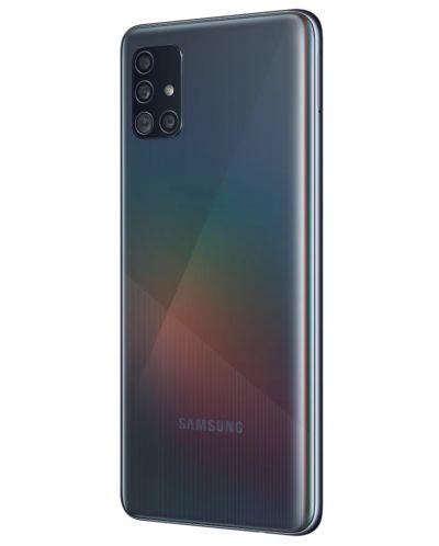 "Смартфон Samsung Galaxy A51 - 6.5"", 128GB, черен - 4"