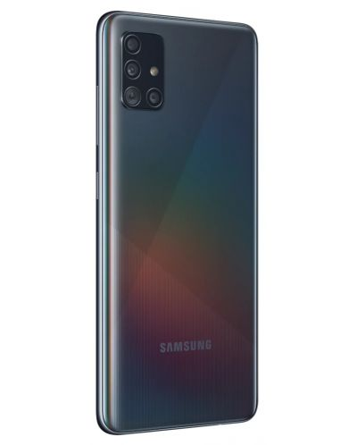 "Смартфон Samsung Galaxy A51 - 6.5"", 128GB, черен - 3"