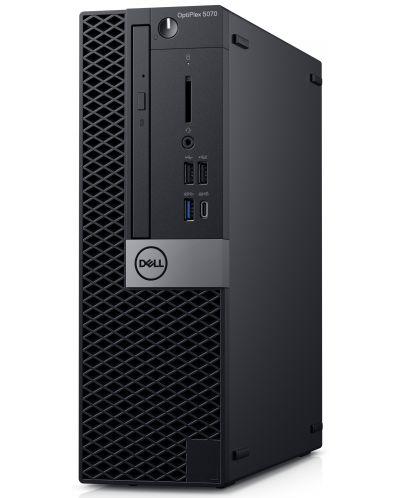 Настолен компютър Dell Optiplex - 5070 SFF, черен - 2