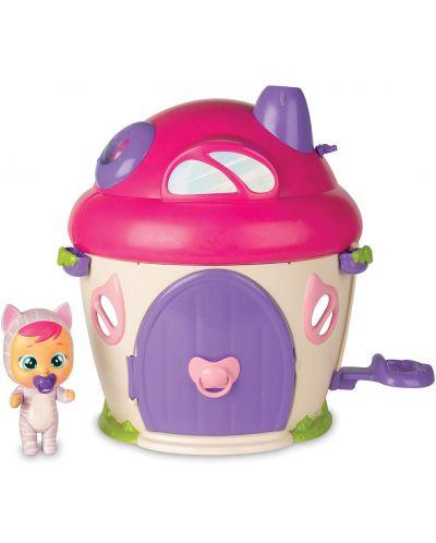 Комплект IMC Toys Cry Babies Magic Tears - Плачеща кукла Кейти с къщичка - 3